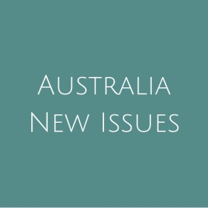 Australia- New Issues
