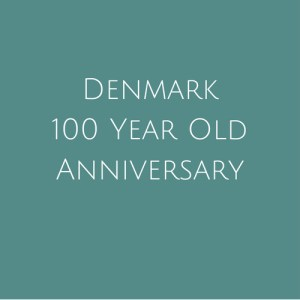 Denmark 100 Year Anniversary Stamps