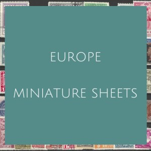 Europe- Miniature Sheets