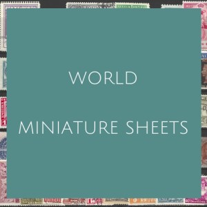 World- Miniature Sheets