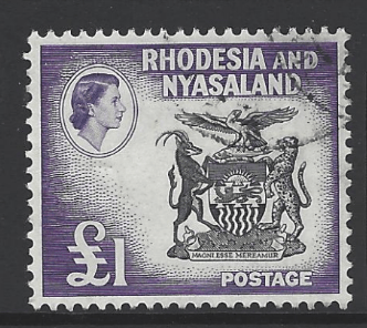 SG 31. Rhodesia and Nyasaland