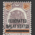 Federated Malay States, SG 5,