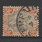 Federated Malay States, SG 22b,