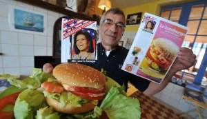 Michelle Obama Burger