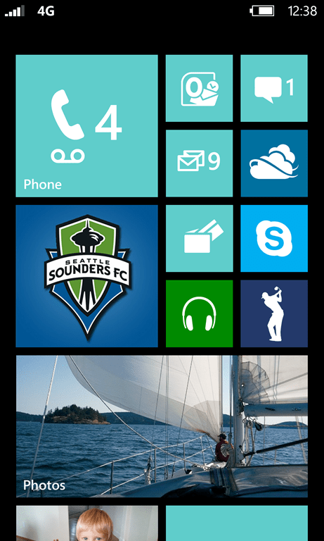 Windows Phone 8 Tiles