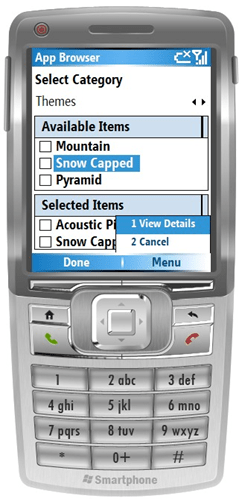 Mobile Provisioner: Device Themes