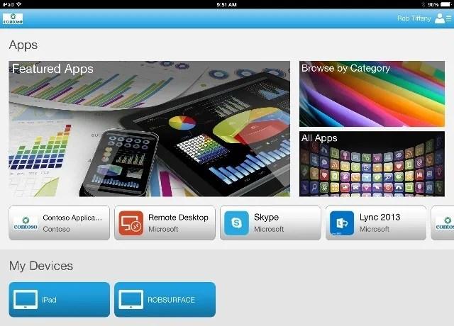 iPad Portal