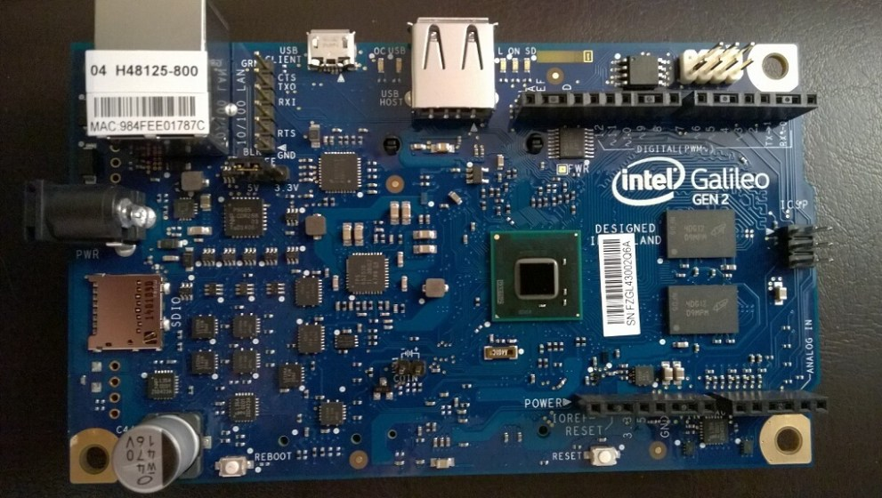 Getting Started with the 2nd Generation Intel® Galileo Arduino Board