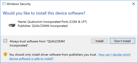 Qualcomm Driver
