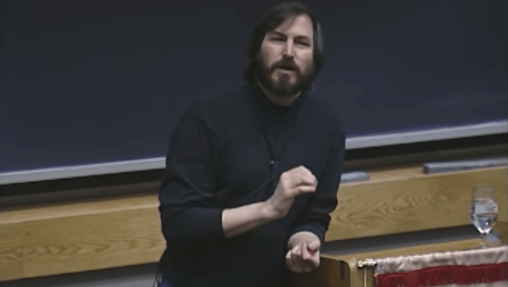 Steve Jobs Lecture at MIT