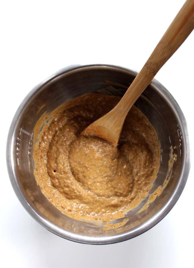 Pumpkin Spiced Chia Seed Pudding #glutenfree #vegan