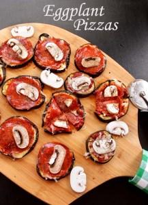 Eggplant Pizzas (GF)