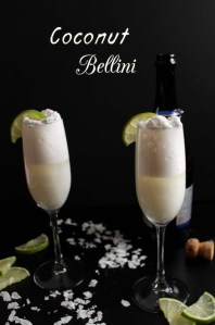 Coconut Bellini