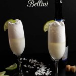 Coconut Bellini. Simple. Delicious. Easy. Celebrate #Cocktail