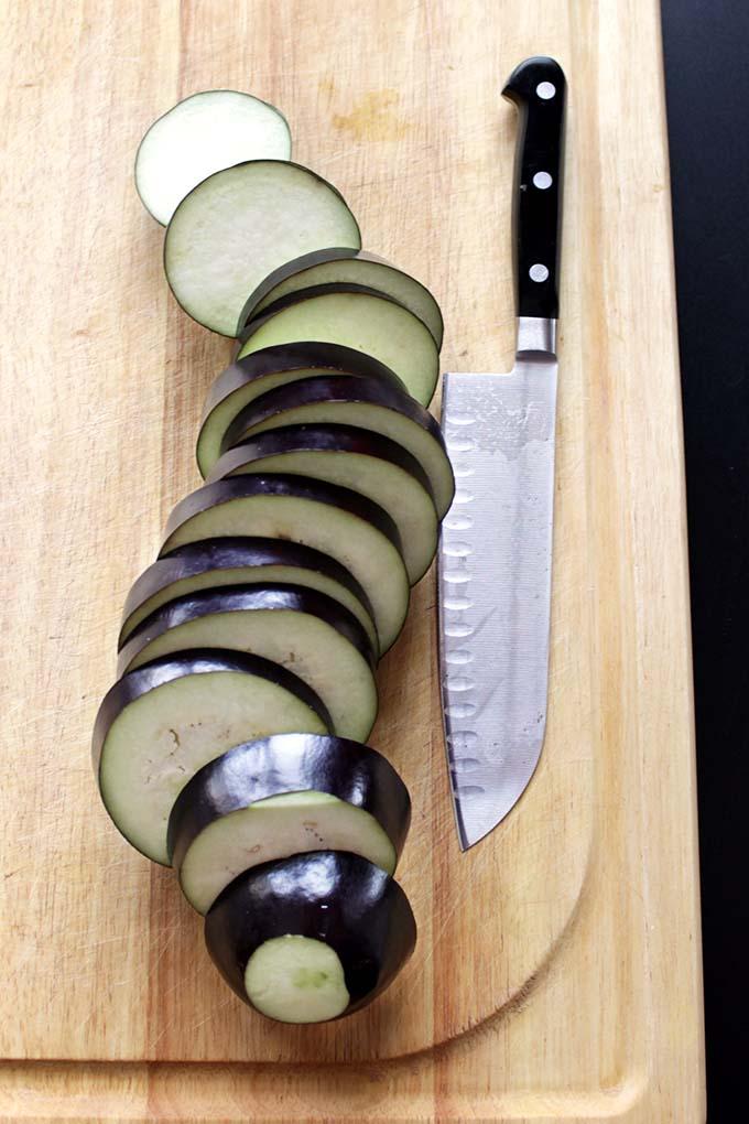 Gltuen-Free Eggplant Parmesean