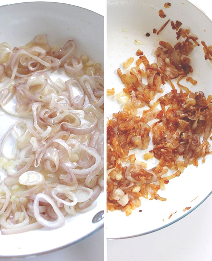 Carmelized Shallots. Sweet. Easy Delicious