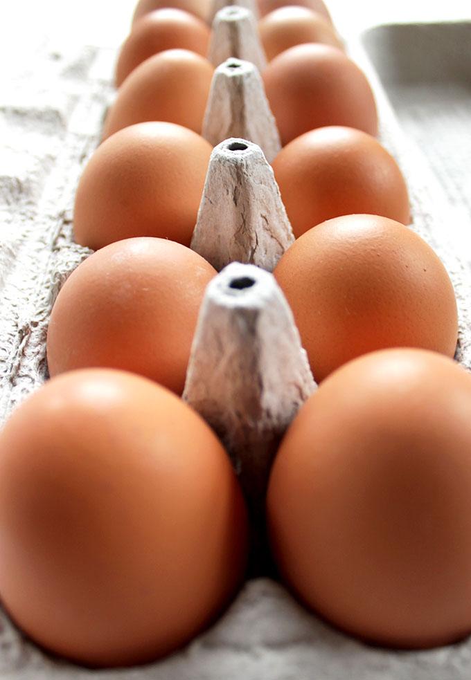 Goat Cheese Scrambled Eggs with Swiss Chard #glutenfree
