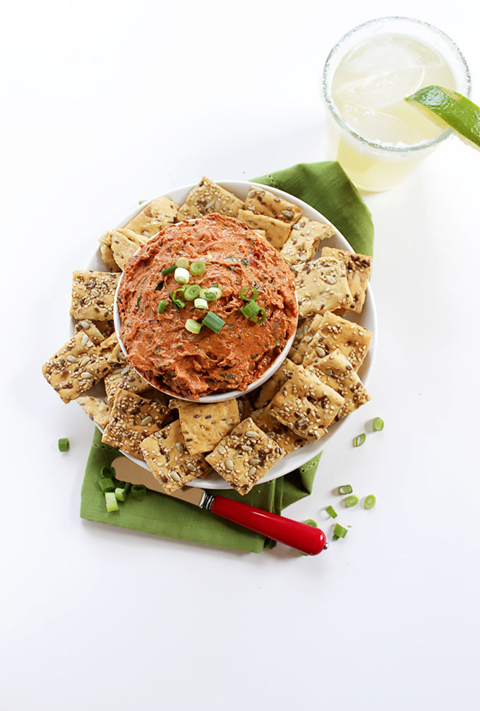 Creamy Sundried Tomato and Chipotle Dip