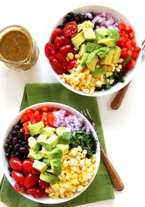 Mexican Millet Power Bowls with Chipotle Lime Vinaigrette (V + GF)