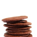 Thin and Crispy chocolate cookies. A satisfying crunchy, cripsy, chocolaty cookie. #glutenfree #refinedsugarfree #cookie