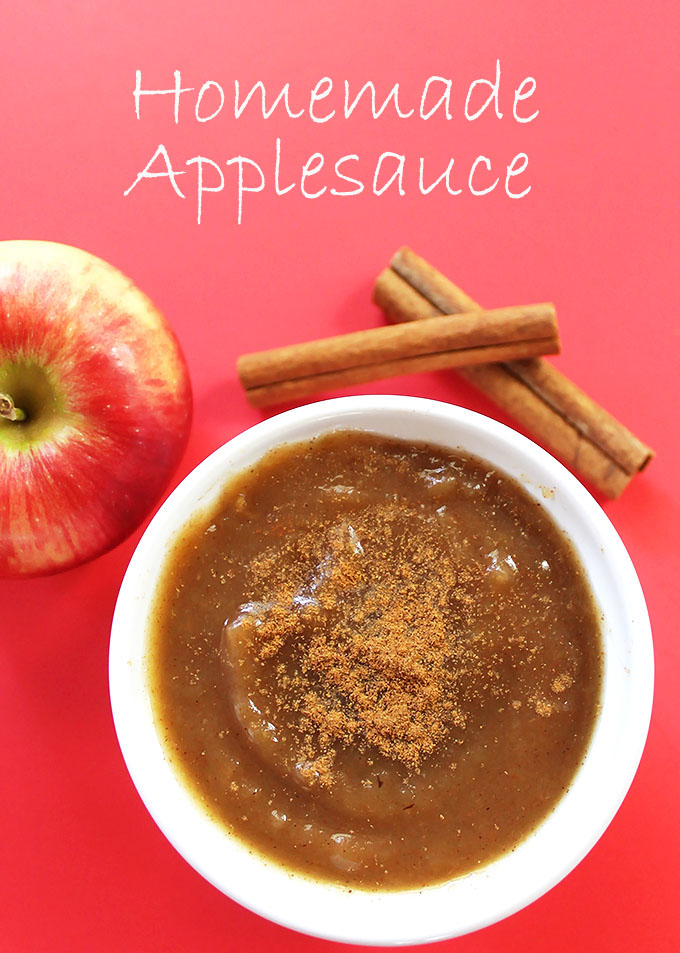 Homemade Applesauce! Delicious, versitale. Easy to make! #refinedsugarfree #fallrecipe  robustrecipes.com