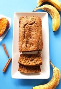 Banana Sweet Potato Bread (GF)
