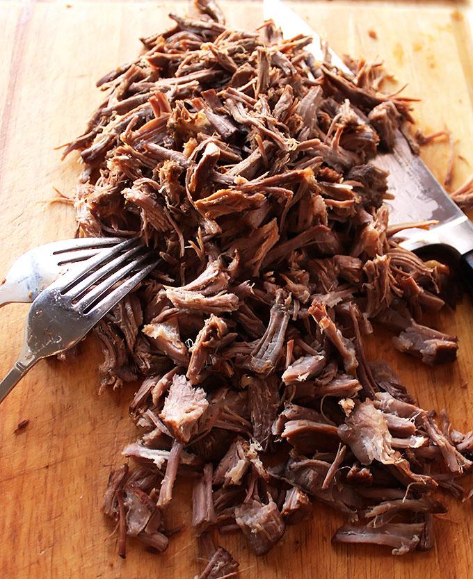 Pulled Pork for Slow Cooker Smoky Pork Chili!