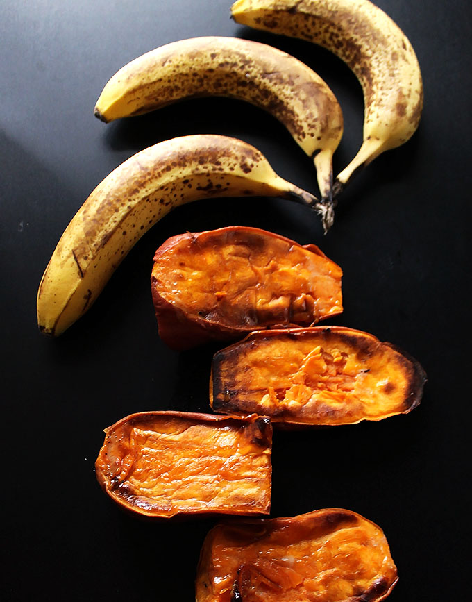Sweet Potatoes and Bananas!