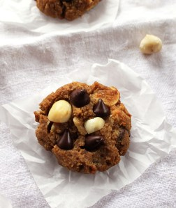 Chocolate Chip Orange Macadamia Cookies (GF)