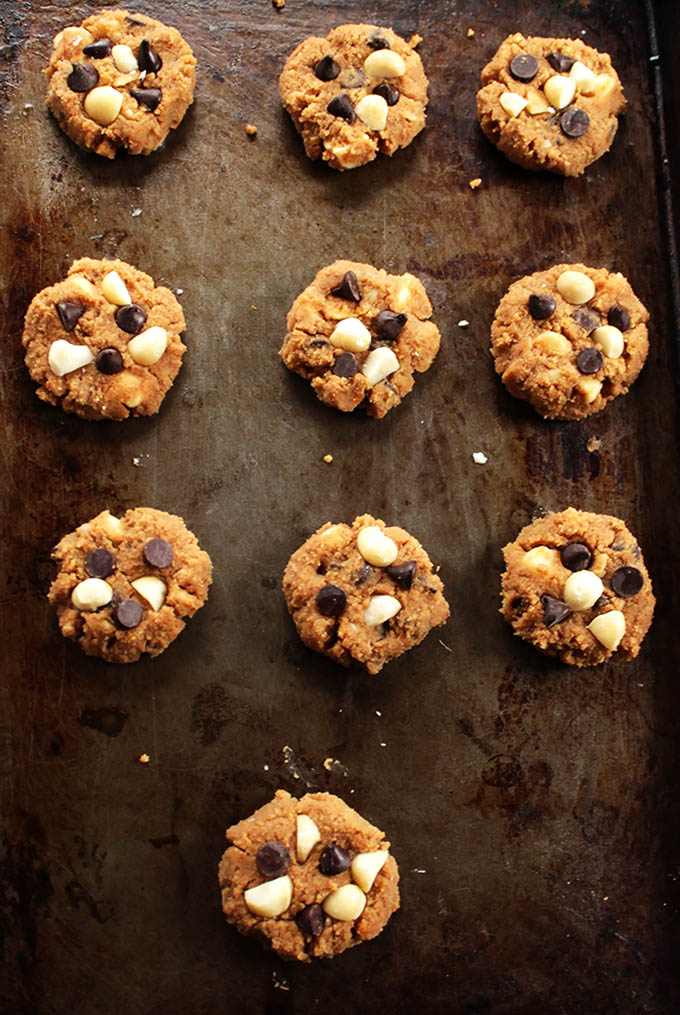 Chocolate Chip Orange Macadamia Cookies. Soft and delicious. Gluten Free!