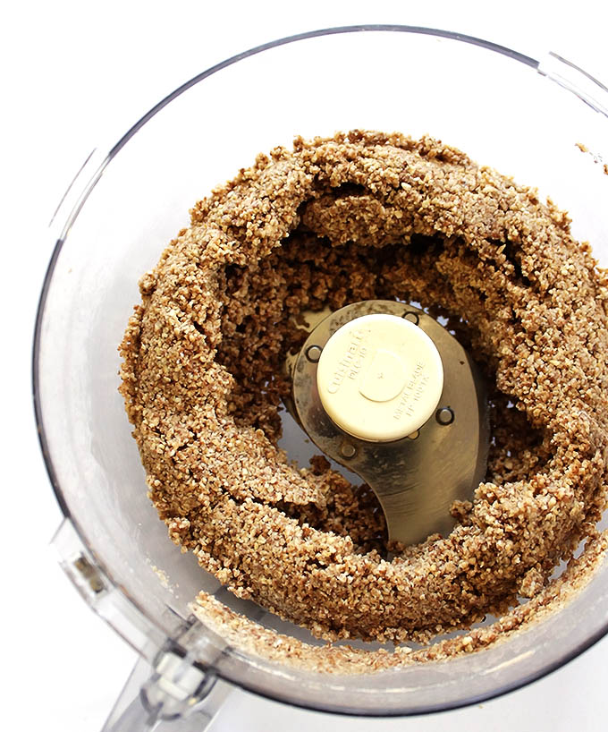Crust for Gluten Free Key Lime Pie - almonds and oats. gluten free/vegan/refined sugar free