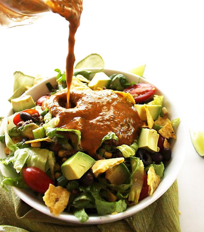 Healthy Taco Salad Gf Robust Recipes