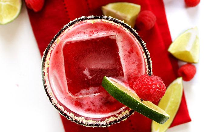 Fresh Raspberry Margarita