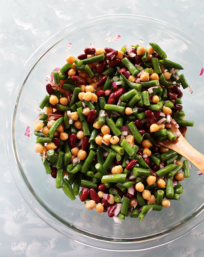 Marinated 3 Bean Salad