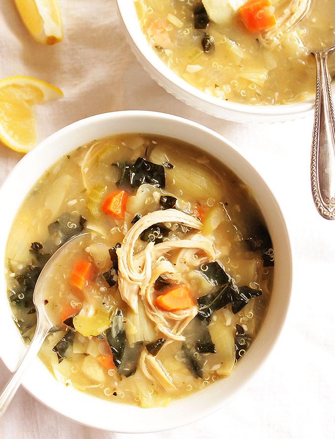 Lemon Artichoke Soup