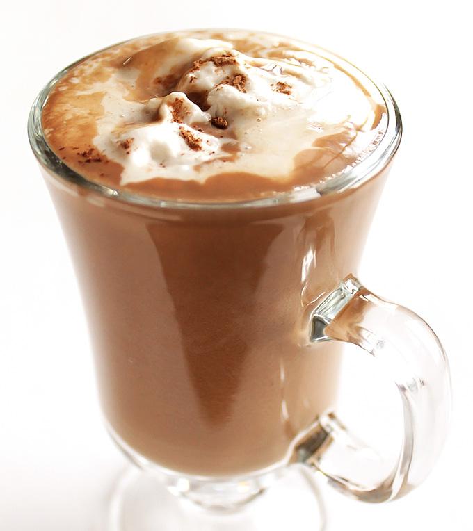 Healthy Vegan Hot Chocolate