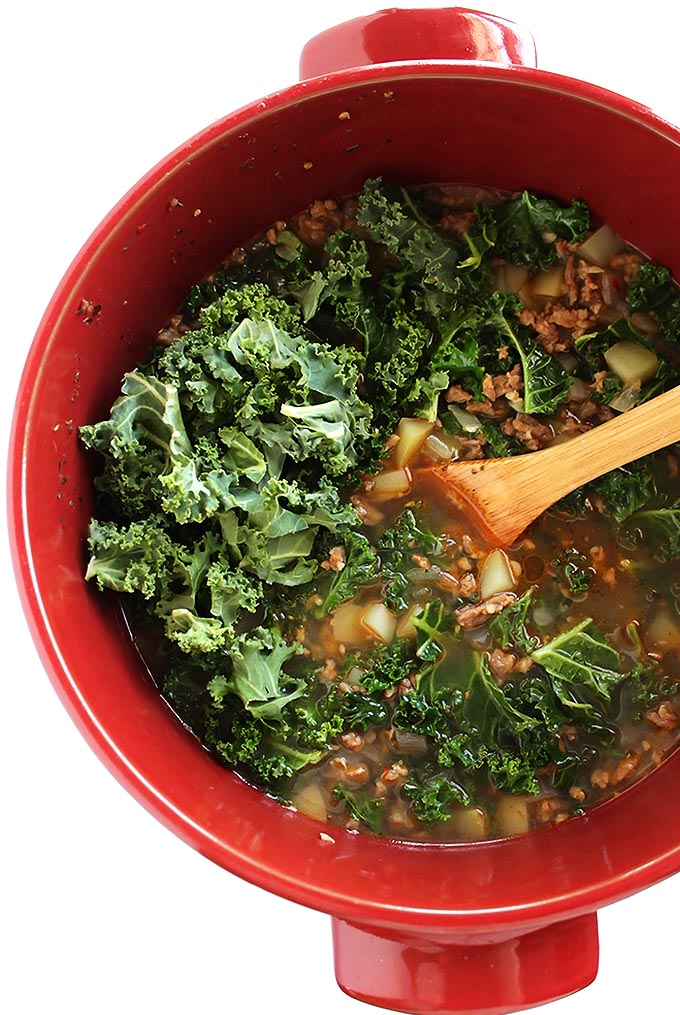 Dairy Free Zuppa Toscana Soup - Robust Recipes