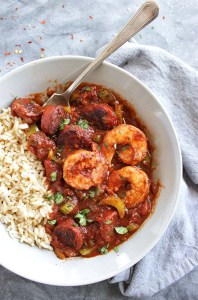 Spicy Sausage and Shrimp Creole