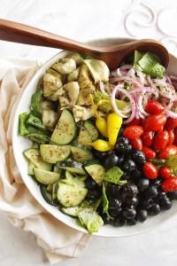 15 Minute Italian Salad