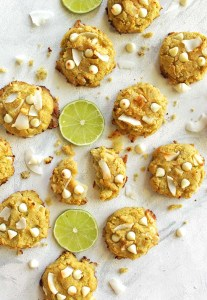 Coconut Lime Cookies (Gluten Free)