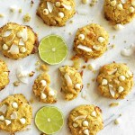 Coconut lime cookies are perfect for summer. They are soft, tender and bursting with coconut lime-y goodness. gluten free/dairy free recipe | robustrecipes.com