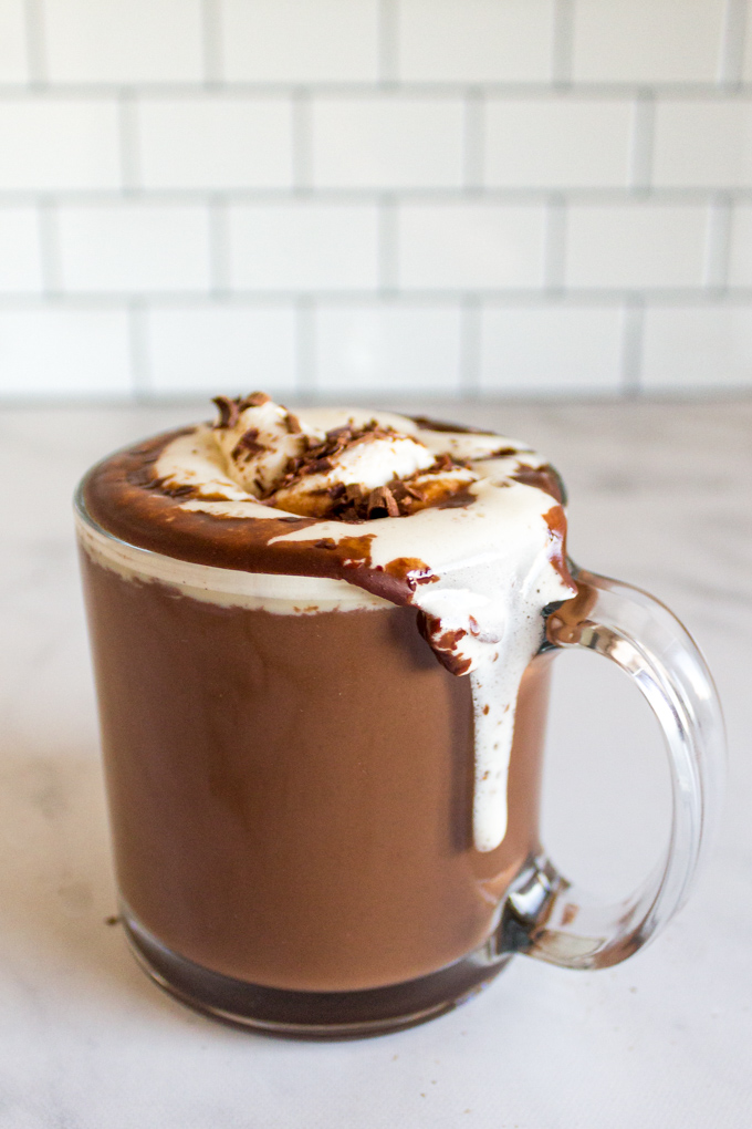 Homemade Hot Chocolate 5 Ingredients Easy Basic Robust Recipes