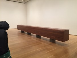 Wade Guyton at Art Institute Chicago. Failed panorama.