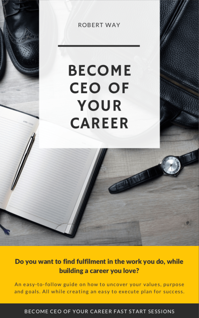 Become CEO of your career