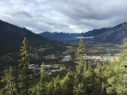 Banff from Tunnel Mountain
