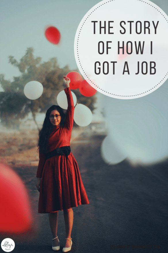 This is the very important story of how I (finally) got a job kind of sort of in my field. I had an interview, which lasted 1.5 hours. Then was called in for a second interview and was offered the job as I sat down. Guys, I got a job!
