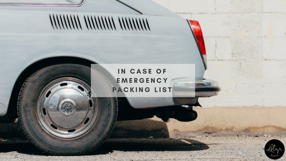 Emergency Packing List