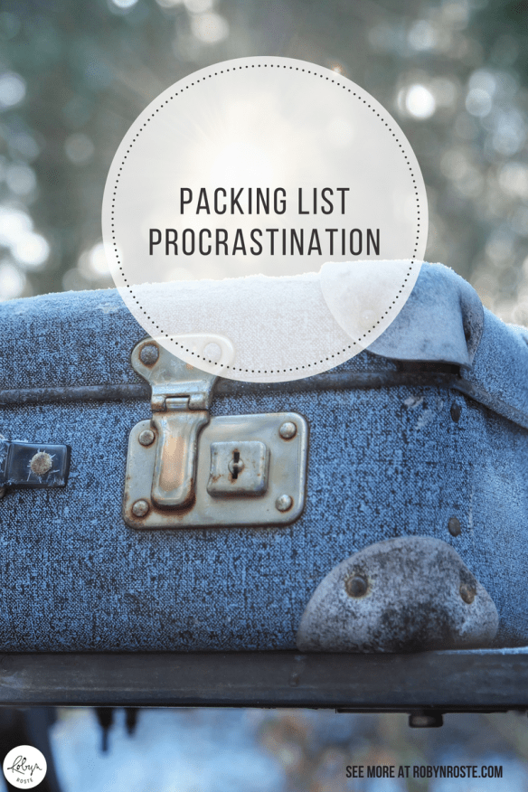 You know how you're supposed to be ready for anything? That's why I have an emergency packing list for stuff I should keep in my trunk. For safety. Problem is, I don't keep it very up-to-date.