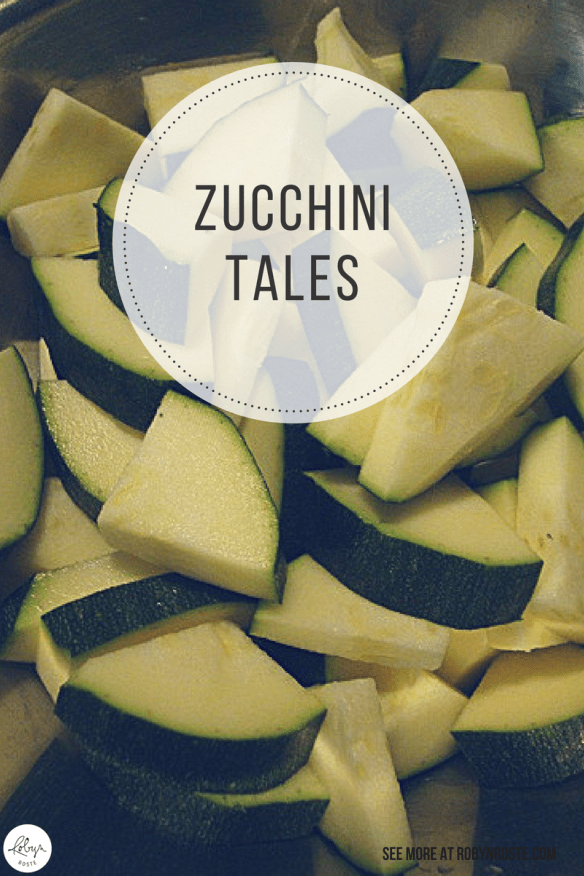 These are the beginning of my zucchini tales. I have a feeling this won't be the end. Because zucchini is awesome. And difficult to kill. So.