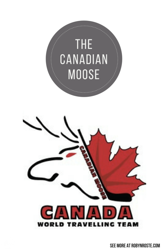 Have Skates Will Travel: The Canadian Moose is a travelling hockey club out of Newmarket Ontario. And I confirmed this was a real team worth writing about.